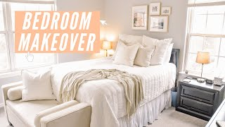 REDECORATE MY APARTMENT BEDROOM | ikea + h&m home haul 2020 + apartment bedroom make over
