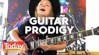 Guitar Prodigy Taj Farrant   TODAY Show Australia