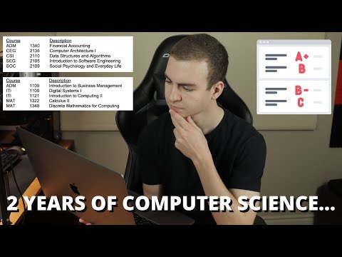 2 Years of my Computer Science Degree - Was it Worth it? - YouTube
