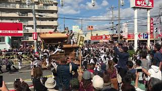 平成30年度 八田荘だんじり祭り 新道パレード