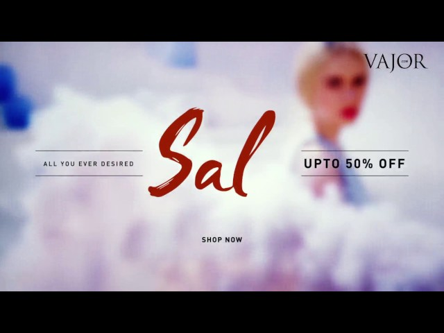 Vajor End of Season Sale from 2nd - 31st Jan!
