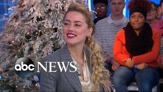 Amber Heard dishes on Jason Momoa's pranks on 'Aquaman' set