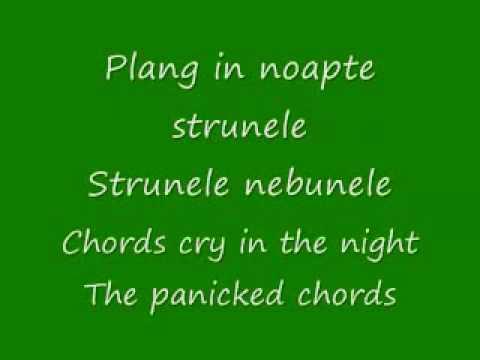 Música De Ce Plang Chitarele (translation)