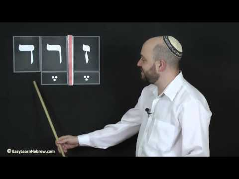 Easy Learn  Hebrew - Lesson 1 (Free Lesson)