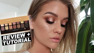 ABH SOFT GLAM PALETTE | Review + Tutorial