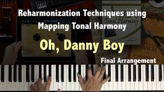 Rearmonización - Mapa Tonal - Oh, Danny Boy