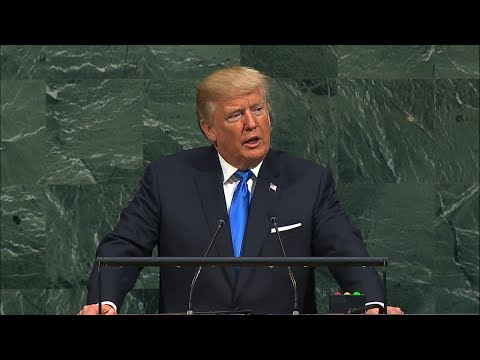 President Donald Trump blasts 'Rocket Man' Kim Jong Un in UN General Assembly 2017 address
