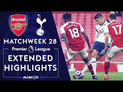 Arsenal v. Tottenham | PREMIER LEAGUE HIGHLIGHTS | 3/14/2021 | NBC Sports