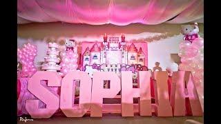 Sophias Hello Kitty 1st Birthday At Patio De Manila