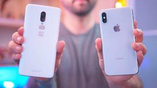 OnePlus 6 vs Apple iPhone X - Blind Camera Comparison!