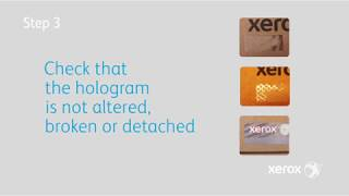 How to Know if your Xerox Supplies are Genuine? YouTube Video
