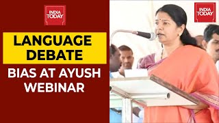 Stop Imposing Hindi On All, Take Action Against Your Officials: Kanimozhi Writes To AYUSH Minister - Download this Video in MP3, M4A, WEBM, MP4, 3GP
