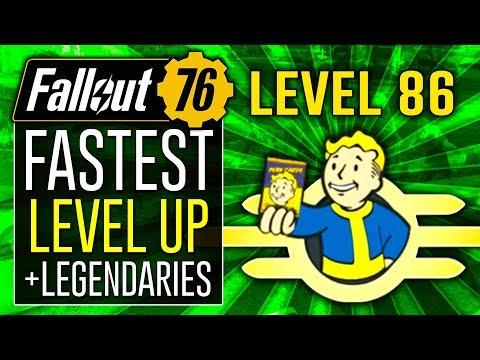 Fallout 76 Infinite XP - Fastest Way to Level Up - смотреть