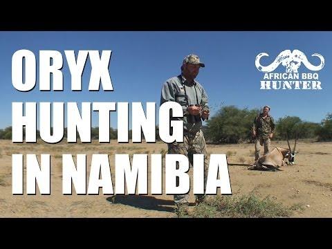 African BBQ Hunter – oryx / gemsbok in Namibia