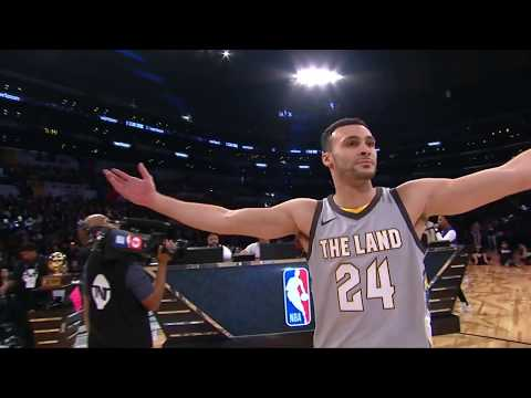 Larry Nance, Jr. Throws Down the Double-Tap Dunk   2nd Round, 2nd Dunk