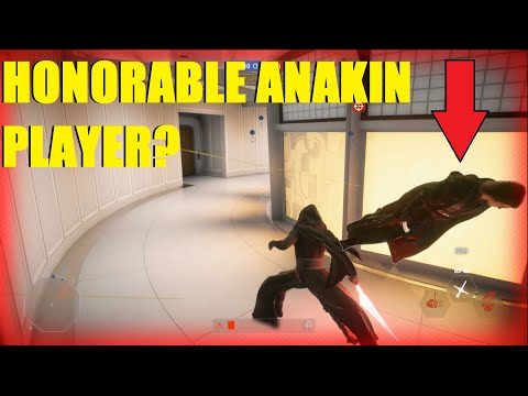 Star Wars Battlefront 2 - We fought A RARE Honorable Anakin player? Kylo Ren, Rey! (2 games)