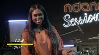 Waje Performs 'Oh My' LIVE On NdaniSessions