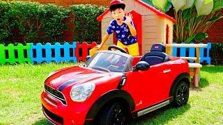 예준이와 아빠의 중장비 자동차 장난감 포크레인 모래놀이 Excavator Toy for Kids