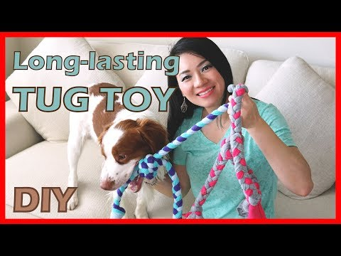 How To Make A Long-lasting Tug Toy For Your Dog | Easy Tutorial | Dog Sewing Project