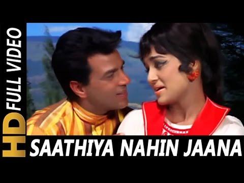 Saathiya Nahi Jaana Ke Jee Na Lage | Lata Mangeshkar, Mohammed Rafi | Aya Sawan Jhoom Ke 1969 Songs