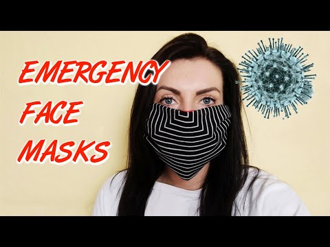 DIY: How To Make Your No-Sew Face Mask For Coronavirus