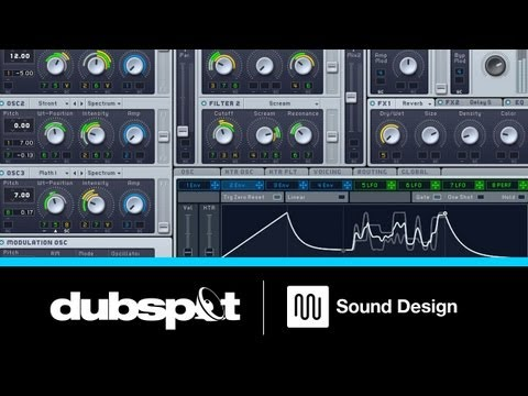 Sound Design with NI Massive at Dubspot NYC