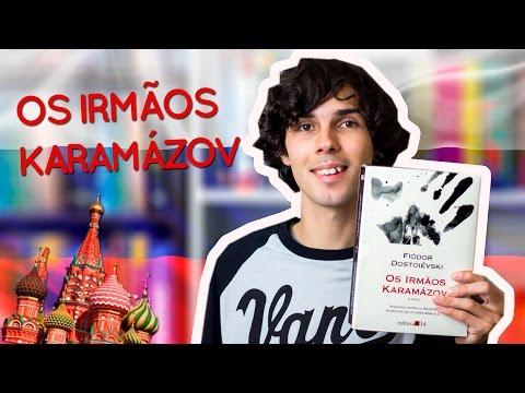 Livro Os Irmãos Karamázov - Fiódor  Dostoiévski