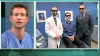 The Doctors - Laser Hair Removal On Mans Beard  | Long Beach Facial Plastic Surgeon