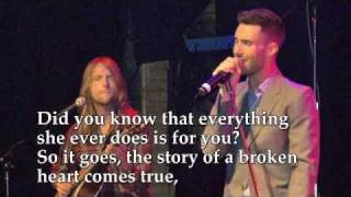 Maroon 5 -  Story Lyrics