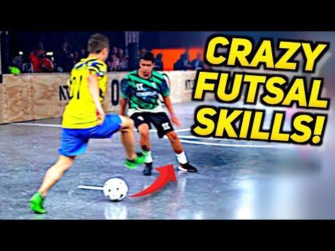 SkillTwins CRAZY IN REAL GAME Futsal Skills ft. Kaká 😱🔥 (Tricks/Nutmegs/Goals)
