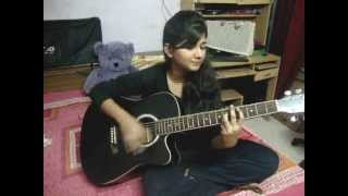 Bikhra Hoon main acoustic cover by Singuianist