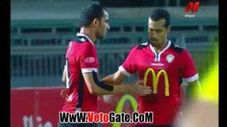 """""""احمد عيد"""" يتقدم بالهدف الاول لـ طلائع الجيش فى مصر المقاصة"""