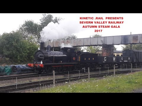 The Severn Valley Railway Autumn Steam Gala 2017