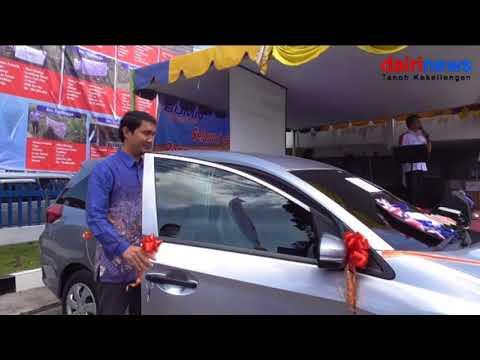 Ratna Butar Butar Menangkan Mobilio Undian Simpedes BRI Cabang Sidikalang