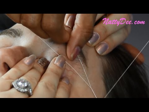 Video Eyebrow Threading - Benefits