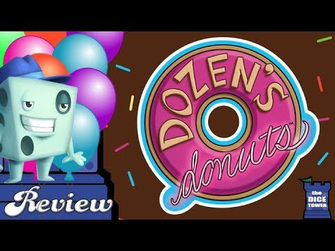Dozen's Donuts Review - with Tom Vasel