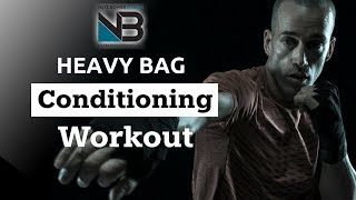 HEAVY BAG CONDITIONING WORKOUT   SHRED WITH BOXING   SESSION 1 by NateBowerFitness