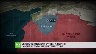Damas a repris la quasi-totalité du territoire syrien