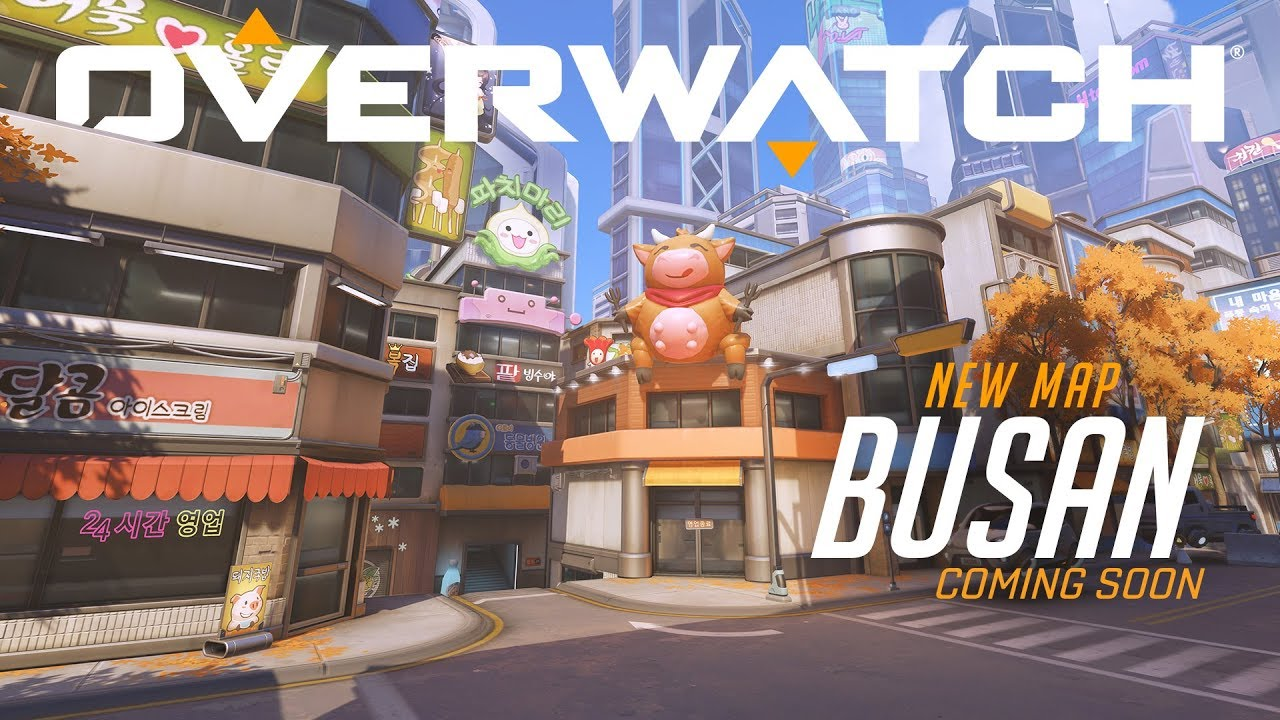 Overwatch - New Map: Busan - System Requirements