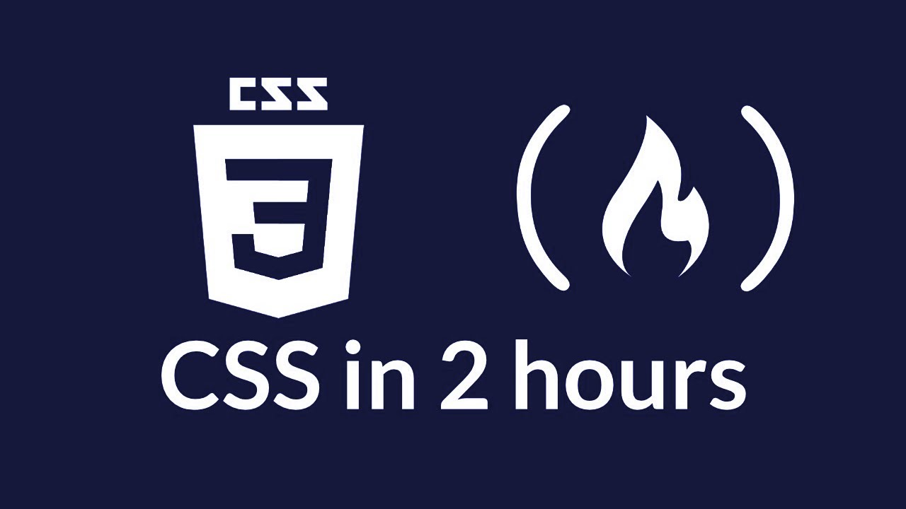Full CSS Course - includes flexbox and CSS grid