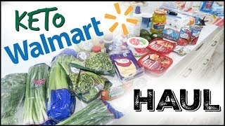 🥑BUDGET KETO MONTHLY WALMART GROCERY PICKUP HAUL ● KETO GROCERY HAUL ● GROCERY LIST ON A BUDGET
