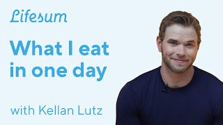 What Kellan Lutz Eats In One Day | Lifesum & Google Assistant