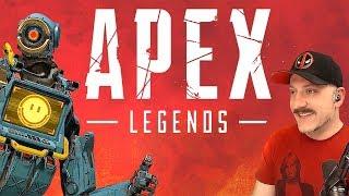 Apex Legends // PC // BloodHound Main // Respawn Games Titanfall BR // Live Stream Gameplay