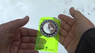 The Compass: True North vs Magnetic North