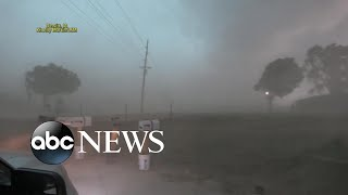 Severe storm with 100 mph winds slams Midwest l GMA
