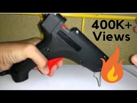 How to use a glue gun ( Step-By-Step) | Unboxing & Review