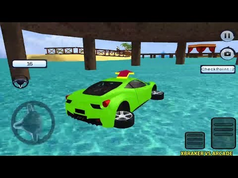 Water Chained Cars Stunt Race Android Gameplay 2018 #1
