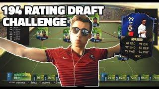 194 RATING DRAFT CHALLENGE 💪 FIFA 17 CZ   UT