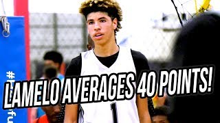 LaMelo Ball Scores 200 POINTS in 1st Summer Tournament! FULL WEEKEND HIGHLIGHTS