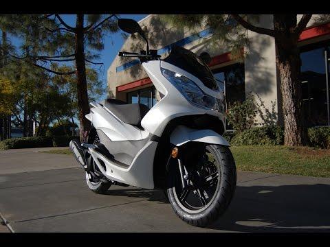 2015 Honda PCX150 White